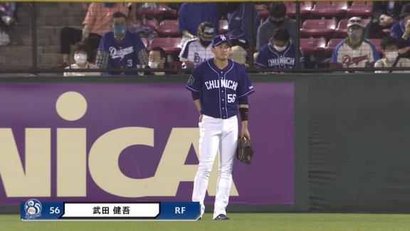 中日・根尾昂、左手首を痛めて途中交代… 与田監督「多少違和感がある」