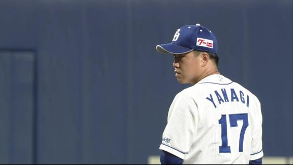 中日・柳裕也投手「ツーアウトから失点してしまったので、そこは反省したいです」
