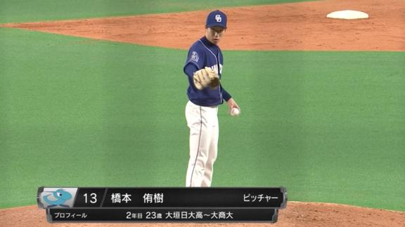 中日・橋本侑樹投手、パ・リーグTVデビューする【動画】