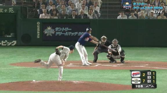 元中日・岩瀬仁紀さん(44歳)、『サントリー ドリームマッチ2019』でとんでもないスライダーを投げてしまう…【動画】