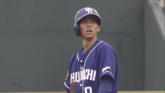 中日・高松渡、劇的に盗塁が上手くなり始める