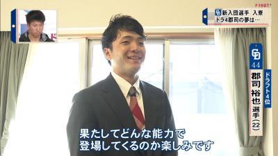 パワプロプレイヤーの中日ドラフト4位・郡司裕也捕手の『夢』とは?