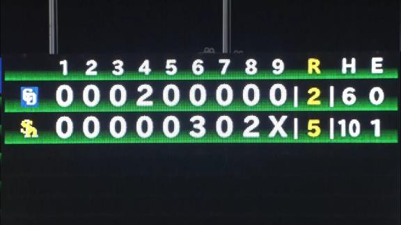 9月8日(水) ファーム公式戦「ソフトバンクvs.中日」【試合結果、打席結果】 中日2軍、2-5で敗戦… 2点を先制するもリリーフ陣がソフトバンク打線につかまる…