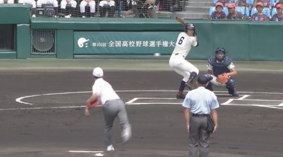 井端弘和さん、甲子園の始球式でエゲツないボールを投げる