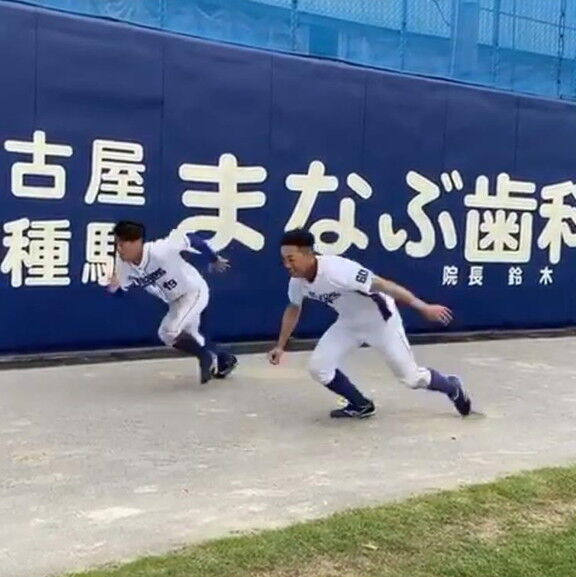 中日・伊藤康祐選手「俺に勝つにはまだ早い」【動画】