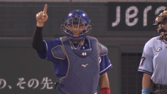 中日ドラフト4位・郡司裕也、先発マスクで2安打2打点3出塁の活躍!「慶應バッテリーだったので何としても福谷さんに勝ちをつけたかった」