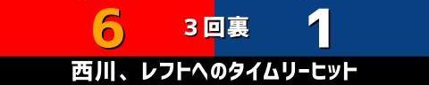6月26日(土) セ・リーグ公式戦「広島vs.中日」【試合結果、打席結果】 中日、5-11で敗戦… 投手陣が11失点と打ち込まれる…