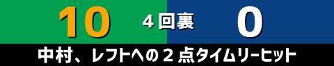9月26日(日) セ・リーグ公式戦「ヤクルトvs.中日」【試合結果、打席結果】 中日、0-16で敗戦… 投手陣は16失点、打線は神宮ヤクルト3連戦で3試合連続完封される…