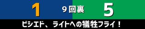 7月3日(土) セ・リーグ公式戦「中日vs.ヤクルト」【試合結果、打席結果】 中日、1-5で敗戦… 引き分けを挟んで5連敗に…