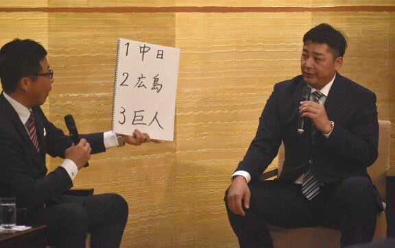 中日OB・森野将彦さん、2020年セ・リーグ順位予想で中日を1位予想に!