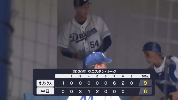 中日・藤嶋健人、2軍戦で登板し1回パーフェクト2奪三振の快投!【投球結果】