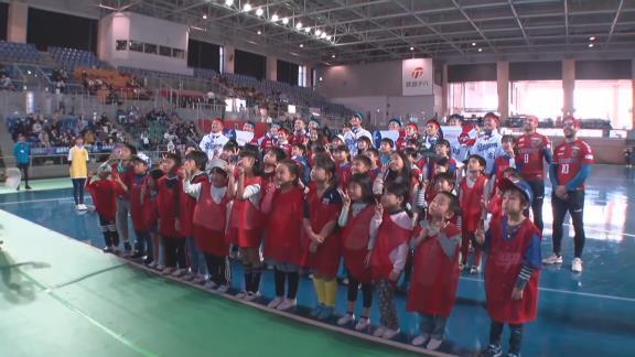 『子ども夢プロジェクト チャリティー大運動会』が行われ、中日ドラゴンズの選手達が参加!【動画】