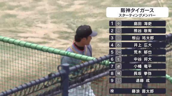 7月5日(日) ファーム公式戦「中日vs.阪神」【試合結果、打席結果】 中日2軍、0-2で完封負け…