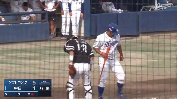 中日・平田良介、野球ができる喜びを感じる