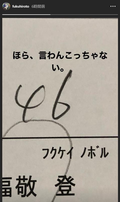 中日・福敬登(フクケイ ノボル)投手