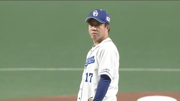 中日・柳裕也「暢仁に投げ負けたくないという一心で投げました」 7回途中3失点の粘投も援護なく…【投球結果】