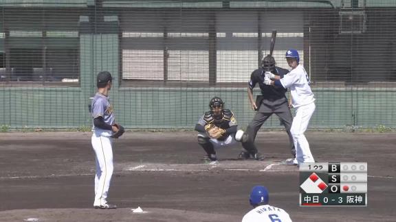 中日・阿部寿樹、今季チーム対外試合第1号となる同点3ランホームランを放つ!!!【打席結果】