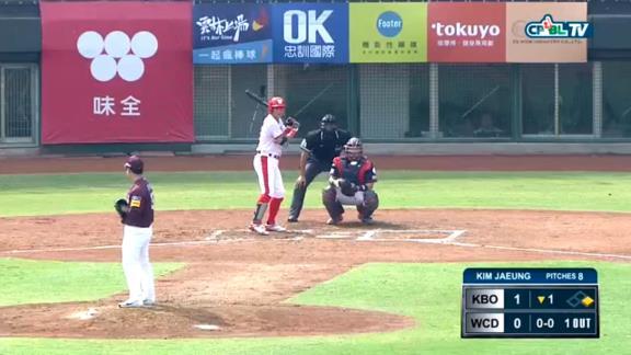 川崎宗則さんがアジアウインターリーグで出場し、鮮やかなヒットを放つ! CPBL味全ドラゴンズの3番DH【動画】