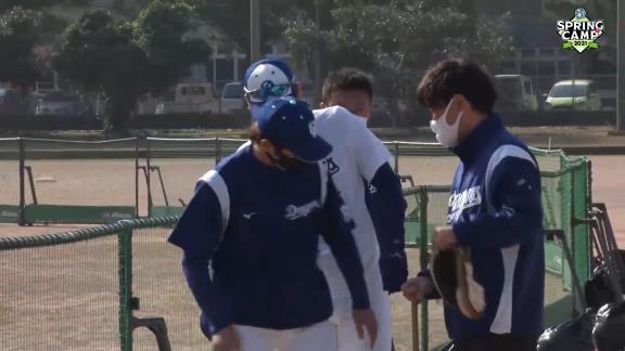 【球団発表】中日・佐藤優、『左ふくらはぎの筋損傷』と診断…