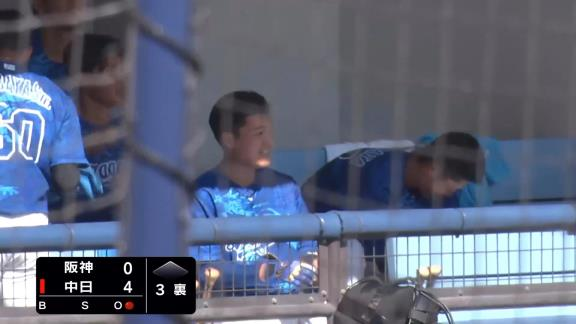 衝撃の超高弾道!? 中日ドラフト1位・石川昂弥、レフトへの第3号2ランホームランを放つ!「最低限、犠牲フライという気持ちで打席に入りました」 仁村徹2軍監督「これからが楽しみ」【動画】