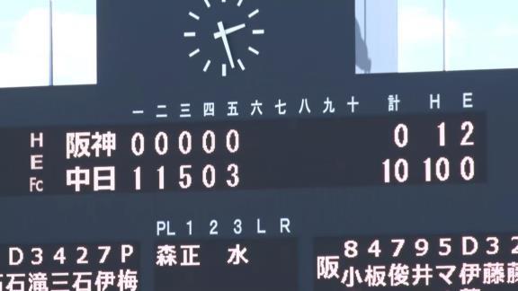 中日・梅津晃大、2ヶ月ぶり実戦復帰! 最速146km/hで1回無失点1奪三振!「痛みが出ずに最後まで投げられた」【投球結果】