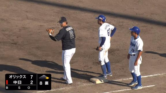 中日・仁村徹2軍監督「3回とも絶対に塁に出ろとプレッシャーをかけた」 → 中日ドラフト5位・岡林勇希、3打数3安打猛打賞