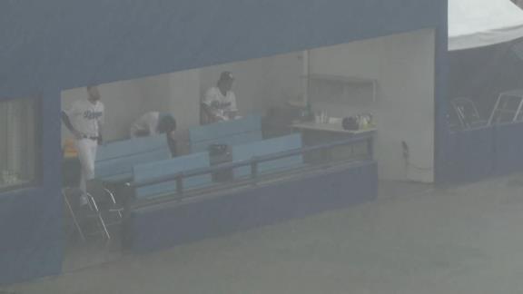 7月9日(金) ファーム公式戦「中日vs.阪神」【試合結果、打席結果】 中日2軍、0-3でビハインド展開になるも試合成立前に降雨ノーゲームに