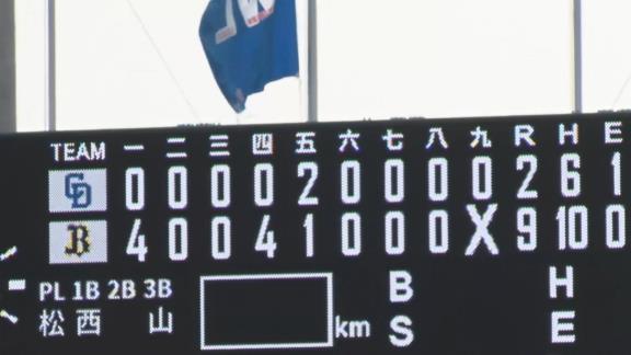 3月19日(金) ファーム開幕戦「オリックスvs.中日」【試合結果、打席結果】 中日2軍、2-9で敗戦…開幕戦を勝利で飾れず