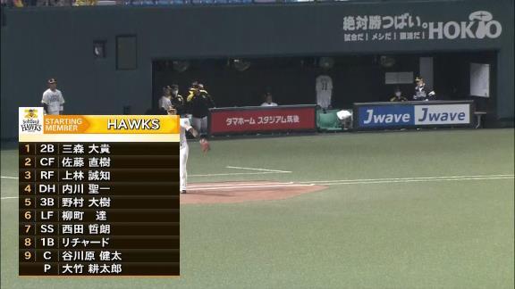 中日・笠原祥太郎、強力ソフトバンク打線を8回2安打1失点に抑え込む快投!「久しぶりに納得できる投球ができました」【投球結果】