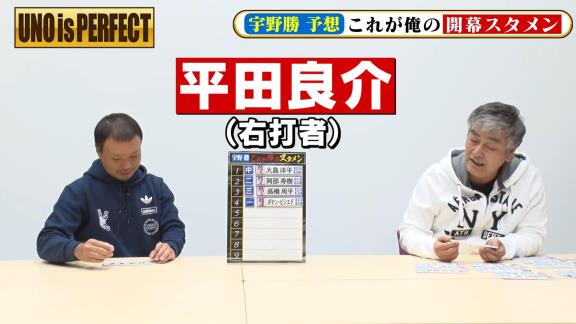 宇野勝さんが考える『俺の中日ドラゴンズ2021開幕スタメン』 ショートの選手は京田陽太選手ではなく…?【動画】
