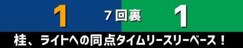 10月14日(木) セ・リーグ公式戦「中日vs.ヤクルト」【試合結果、打席結果】 中日、1-1で引き分け 今季バンテリンドーム最終戦を勝利で飾れず