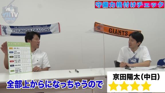 井端弘和さんによる『セ・リーグ遊撃手 守備力格付けチェック』! 最高評価のショートは…?【動画】