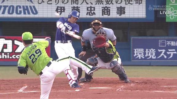 中日・大島洋平、今シーズン第1号先制2ランホームラン!!!