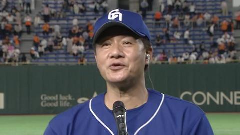 中日・与田監督「周平に限らず、選手が一軍で活躍するためには何をしたらいいか。その中の一つの方法が今日のこういうことだった」