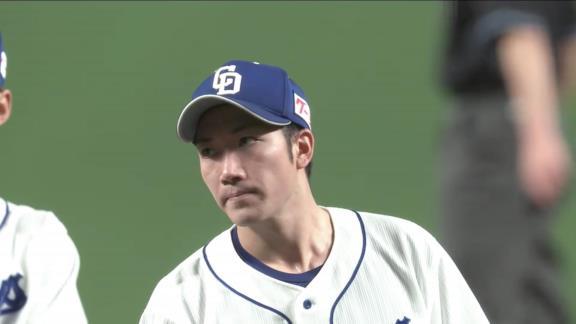 中日・勝野昌慶投手「粘り足りなくて先制点を与えてしまい、申し訳ないです」 権藤博さん「反省することはないですよ。素晴らしいピッチングですよ!」