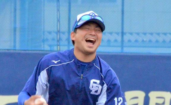 中日、ナゴヤ球場での秋季練習初日の様子 田島慎二投手、阪神・藤川球児投手のイニング跨ぎに感銘を受ける