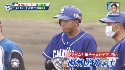 中日・岡林勇希、1年目のシーズンを終えての課題は…?