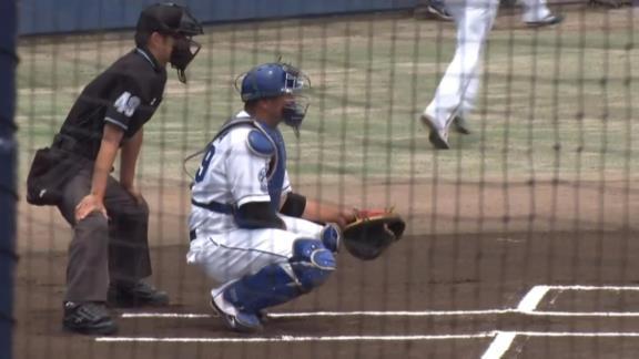 中日・仁村徹2軍監督、チームトップの本塁打数を放つ山下斐紹の活躍に「こうやって結果出してくれれば、育成から支配下にというのを考えなければいけないね」