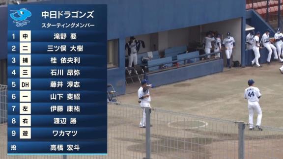 中日・石川昂弥の打球、恐ろしいほどの伸びを見せる【動画】