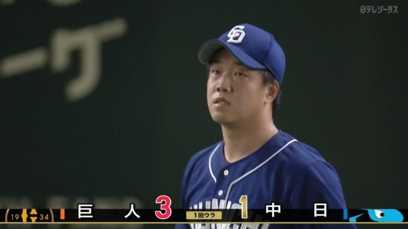 中日・柳裕也、2回6失点で2軍降格へ「申し訳ないです…」 与田監督「いろんな部分がよくなかった」【投球結果】