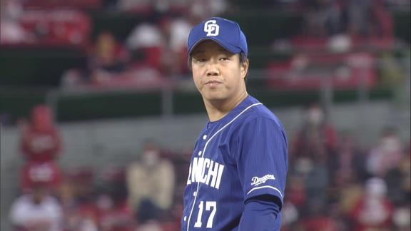 中日・柳裕也、9回途中139球の大熱投で今季6勝目! あと1アウトのところで完封勝利を逃し…「最後に完封できなかった悔しさを来シーズンにつなげたいです」【投球結果】