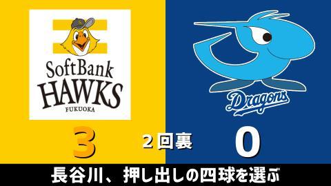 3月2日(火) オープン戦「ソフトバンクvs.中日」【試合結果、打席結果】 中日、オープン戦初戦は2-14で敗戦…