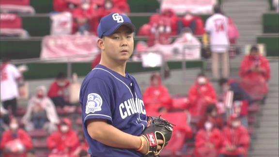 中日・小笠原慎之介投手、エラーをしてしまった根尾昂選手への行動があまりにもカッコよすぎる…