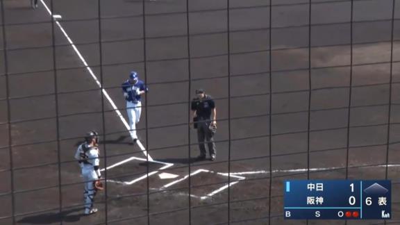 中日・堂上直倫、ファームで今季第1号ホームランを放つ!!! 前日には4安打2打点5出塁の大暴れ!「取り組んでいることをゲームで出せるように、自信につなげていきたいです」【打席結果】