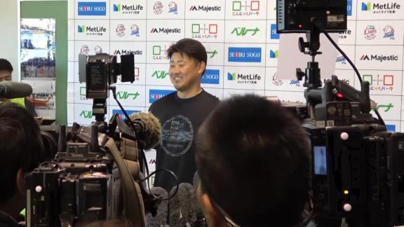 松坂大輔投手が高木豊さんのYouTubeチャンネルにゲスト出演!【動画】