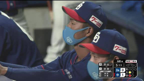 中日・与田監督「出たくてしょうがない、出たがっているというムードを醸し出していたんだけどね」