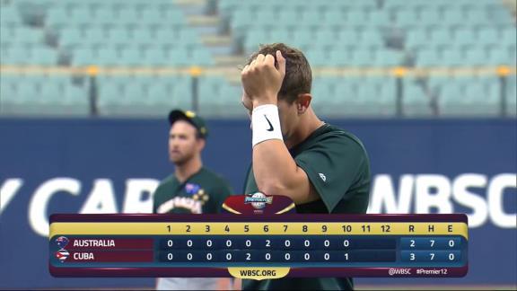 プレミア12・キューバ代表、元中日のディンゴ監督率いるオーストラリア代表に延長10回サヨナラ勝利! 中日・R.マルティネスはリリーフで3奪三振!