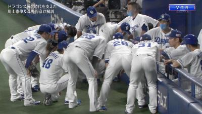 川上憲伸さん「相手の円陣はピッチャーからすると誇らしく感じる瞬間なんですよ」