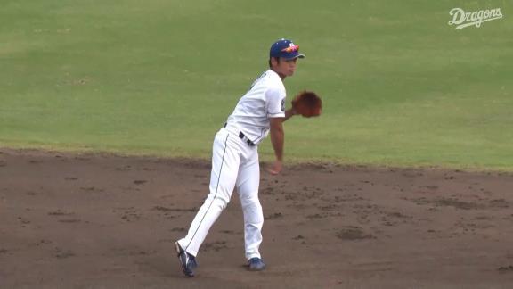 中日・仁村徹2軍監督「根尾は同じミスを繰り返している。打つ、打たないではなく、しっかり守る、しっかり走ることが足りない。きょうも左投手から安打を打てたが、その後(の打席で)振りすぎたね」