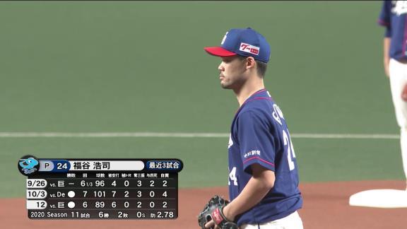 中日・福谷浩司「序盤、バタついてしまって四球も出してしまいましたが、最少失点でいけてよかったです」 投げては7回1失点HQS、打っては2安打マルチヒットの活躍で今季7勝目!【投球結果】